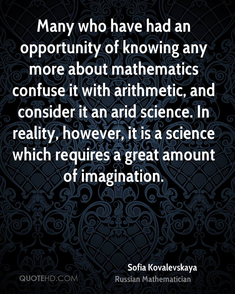 Science in reality however it is a science which requires a great