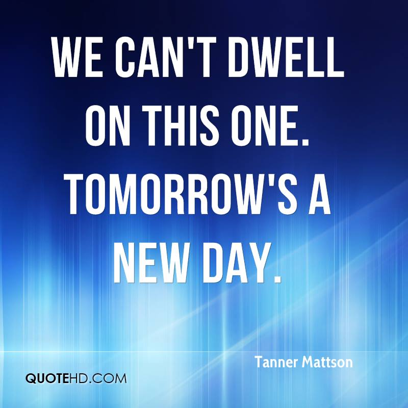 Tomorrows a new day images