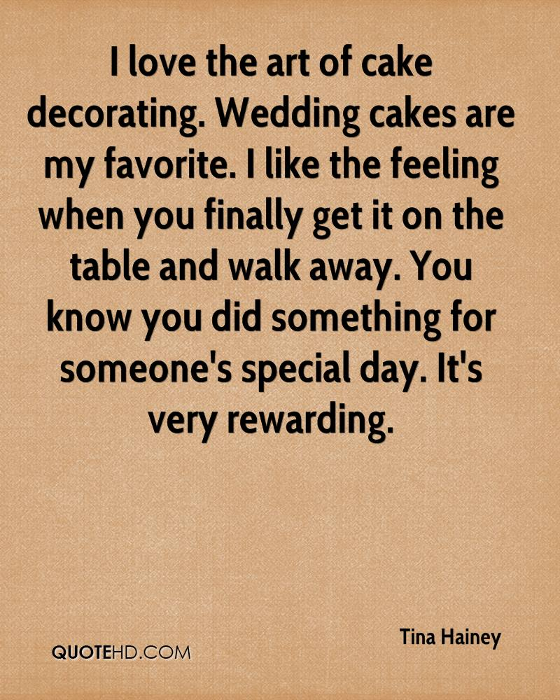 I Love The Art Of Cake Decorating Wedding Cakes Are My Favorite Like