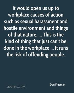 Sexual Harassment - Causes of Sexual Harassment