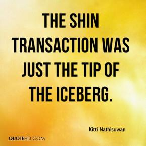 The Shin transaction was just the tip of the iceberg.