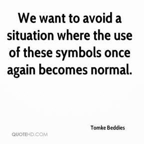 Tomke Beddies  - We want to avoid a situation where the use of these symbols once again becomes normal.