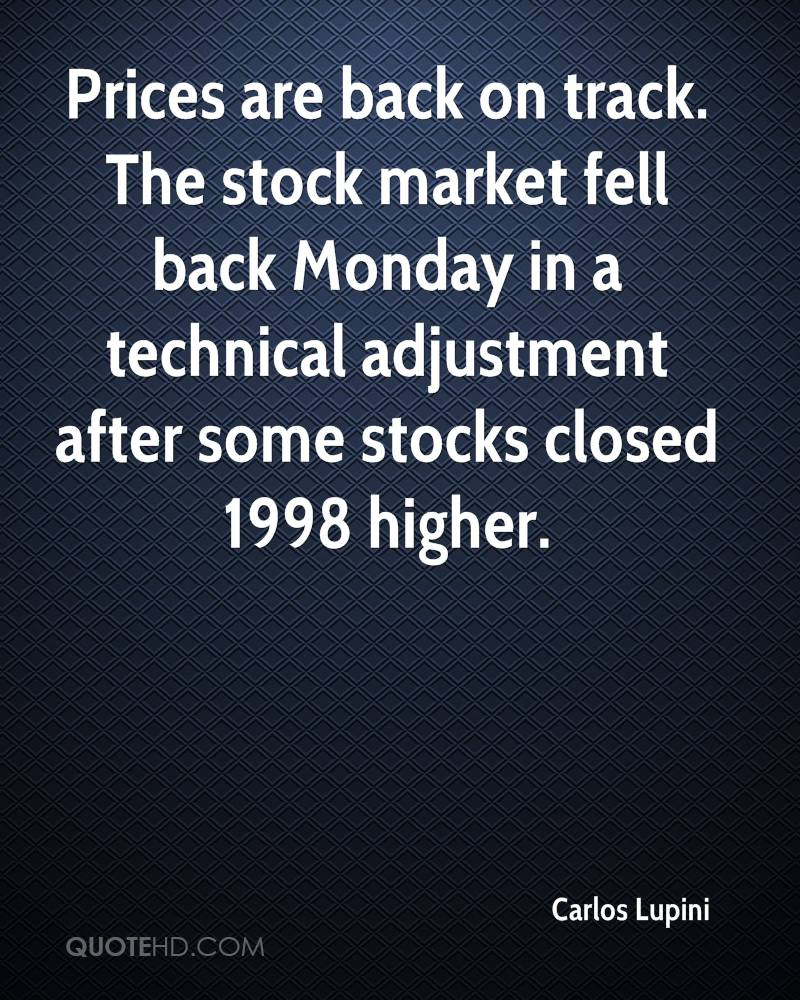 After Market Stock Quotes Amazing Carlos Lupini Quotes  Quotehd