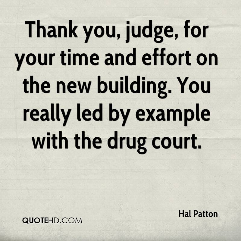 Thanks For All Your Efforts Quotes: Hal Patton Quotes