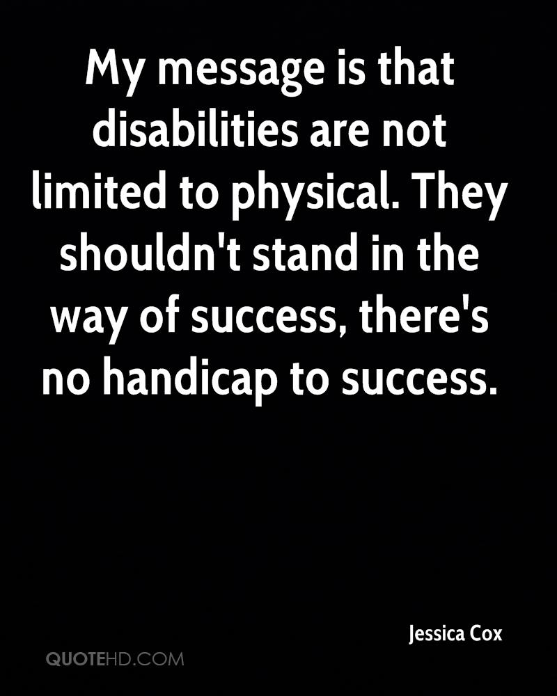 Quotes About Disabilities Jessica Cox Quotes  Quotehd