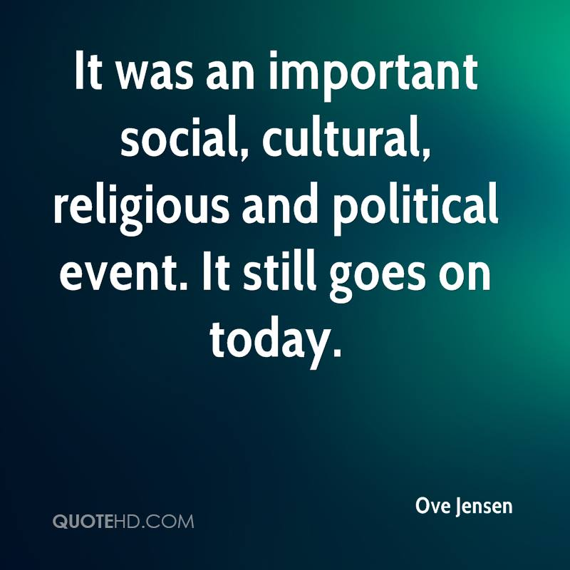 The importance of political socialization in culture