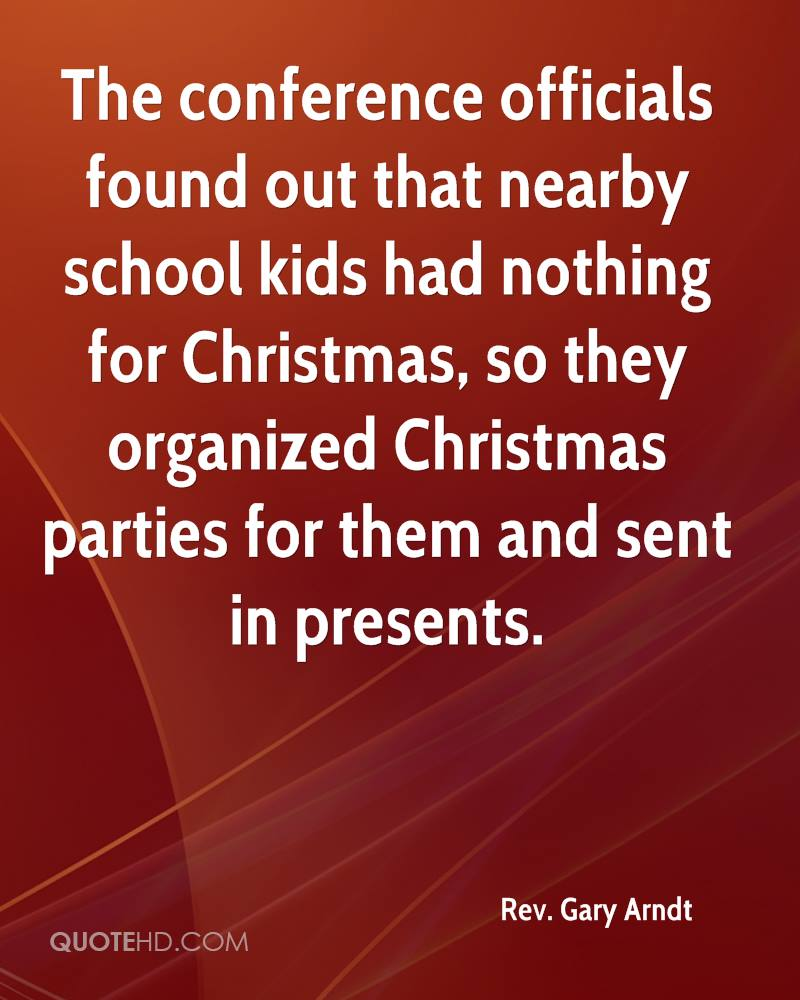 Rev. Gary Arndt Christmas Quotes | QuoteHD