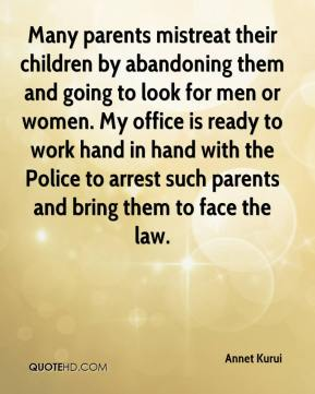 child abandonment causes and responses A child who experiences a separation from his/her mother  and prompt and appropriate responses to  be due to the relatively non-urgent causes of the.