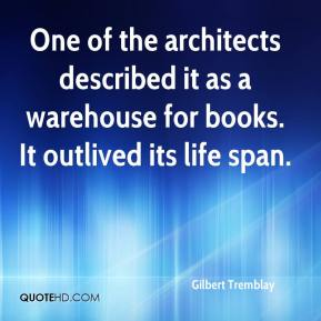 One of the architects described it as a warehouse for books. It outlived its life span.