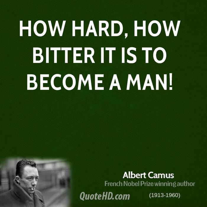an analysis of albert camuss between yes and no In 1951, albert camus published the rebel, a book-length essay aimed at diagnosing the metaphysical significance of rebellion and revolutionprimarily centered around western europe, camus adopts a riveting existentialist position on why man rebels.