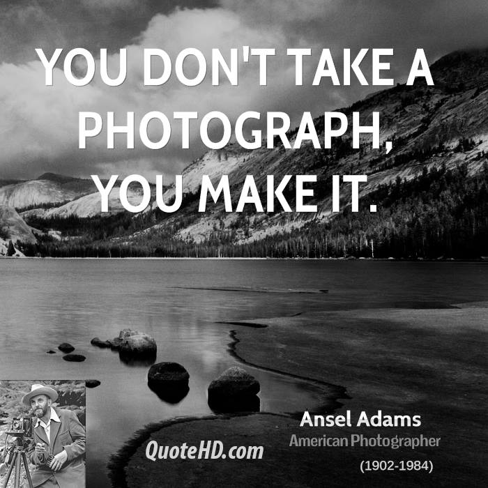 Ansel Adams Art Quotes | QuoteHD