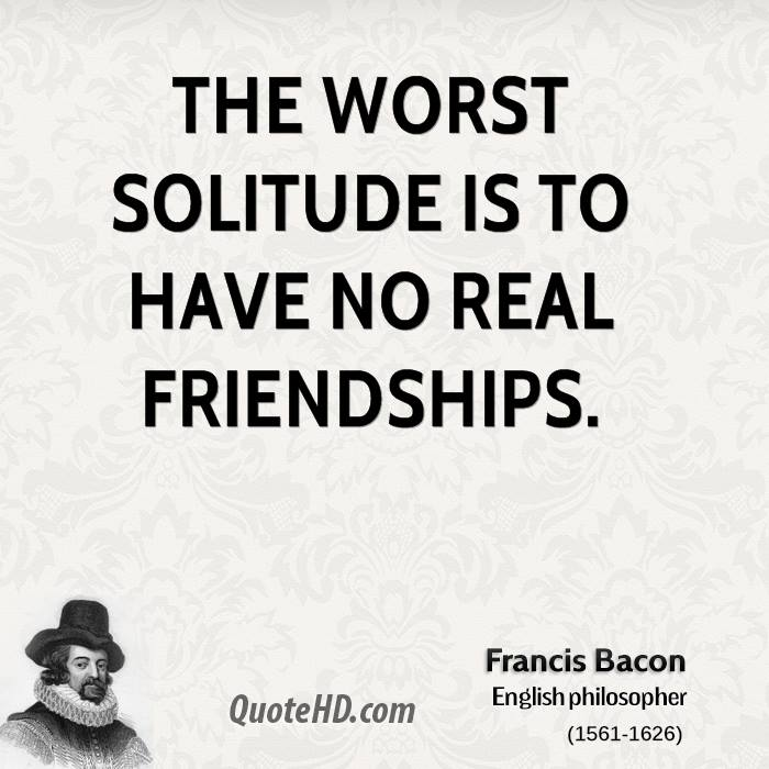 Francis Bacon Friendship Quotes QuoteHD Adorable English Quotes About Friendship