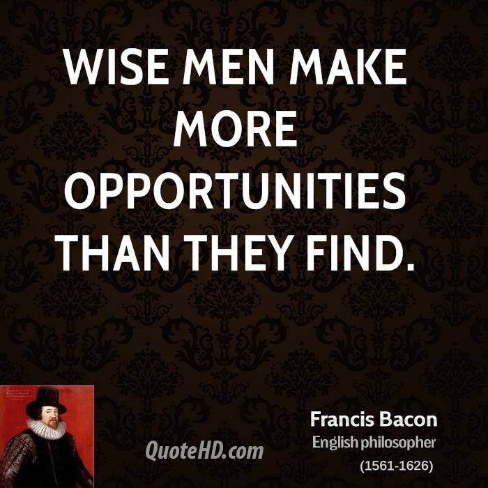 Wise Quotes: Francis Bacon Wisdom Quotes
