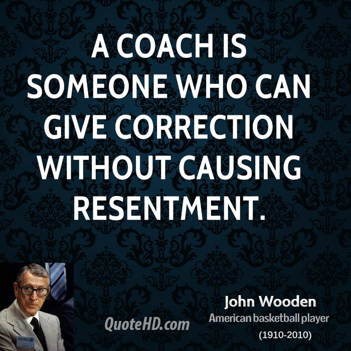 John Wooden Quotes About Losing Quotesgram
