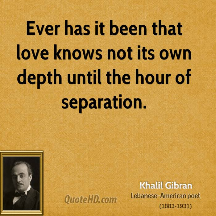khalil gibran quotes love