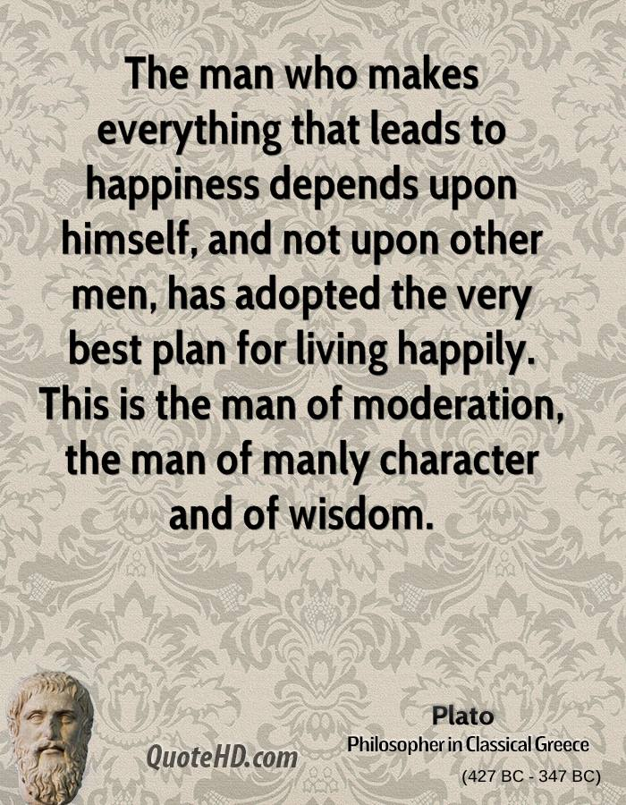 plato and even happiness
