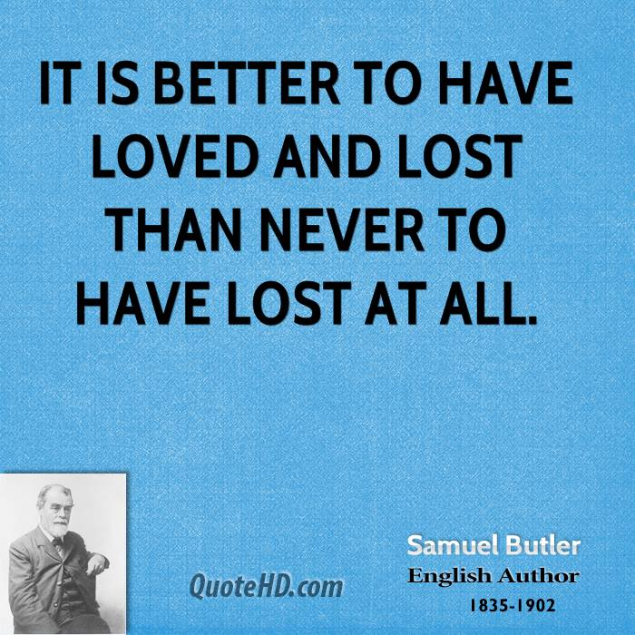 Samuel Butler Valentine's Day Quotes