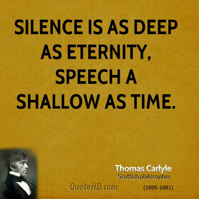 Deep Philosophy Quotes: Thomas Carlyle Time Quotes