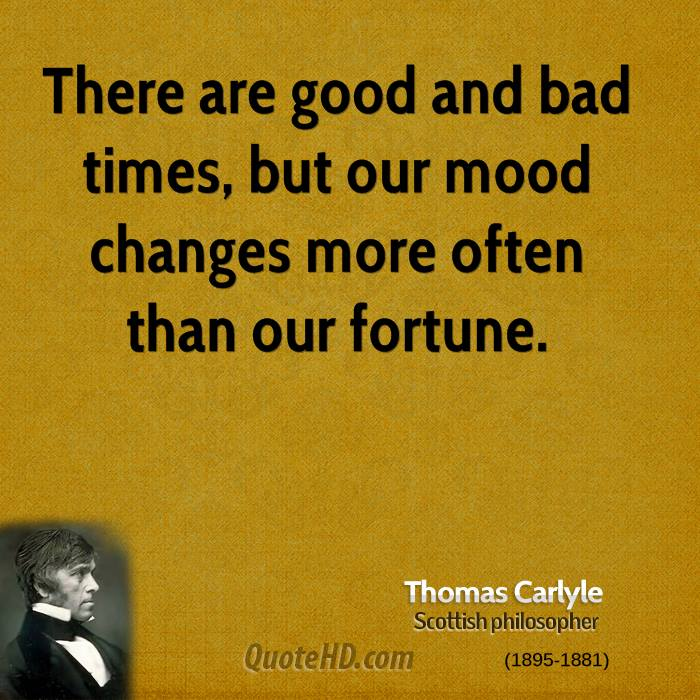 Good And Bad Quotes: Thomas Carlyle Quotes
