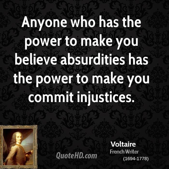 Voltaire Power Quotes Quotehd