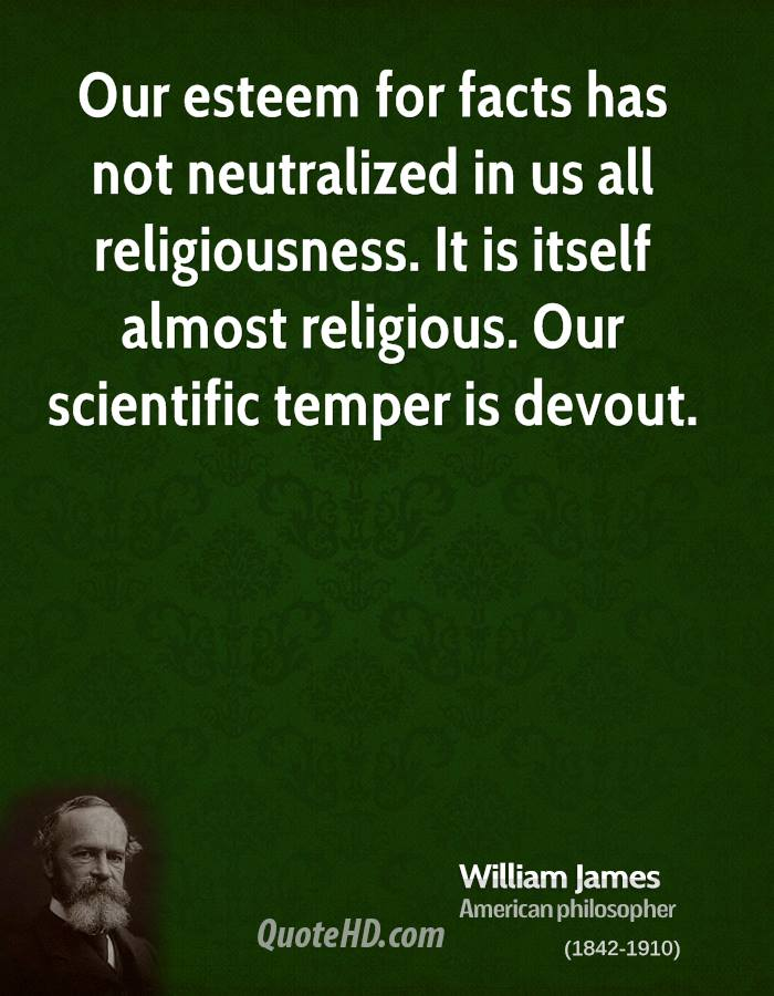 Quotes William James Religion