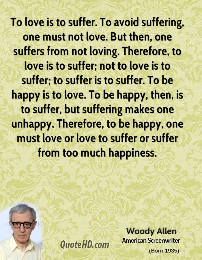 Woody Allen Quotes About Love