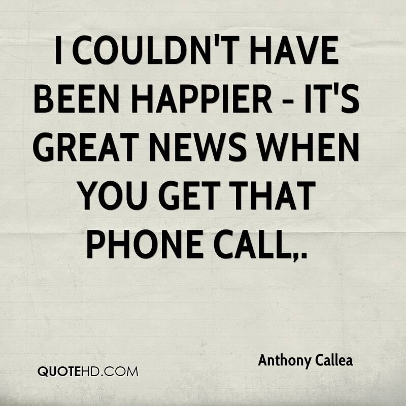 Phone Call Quotes Anthony Callea Quotes  Quotehd