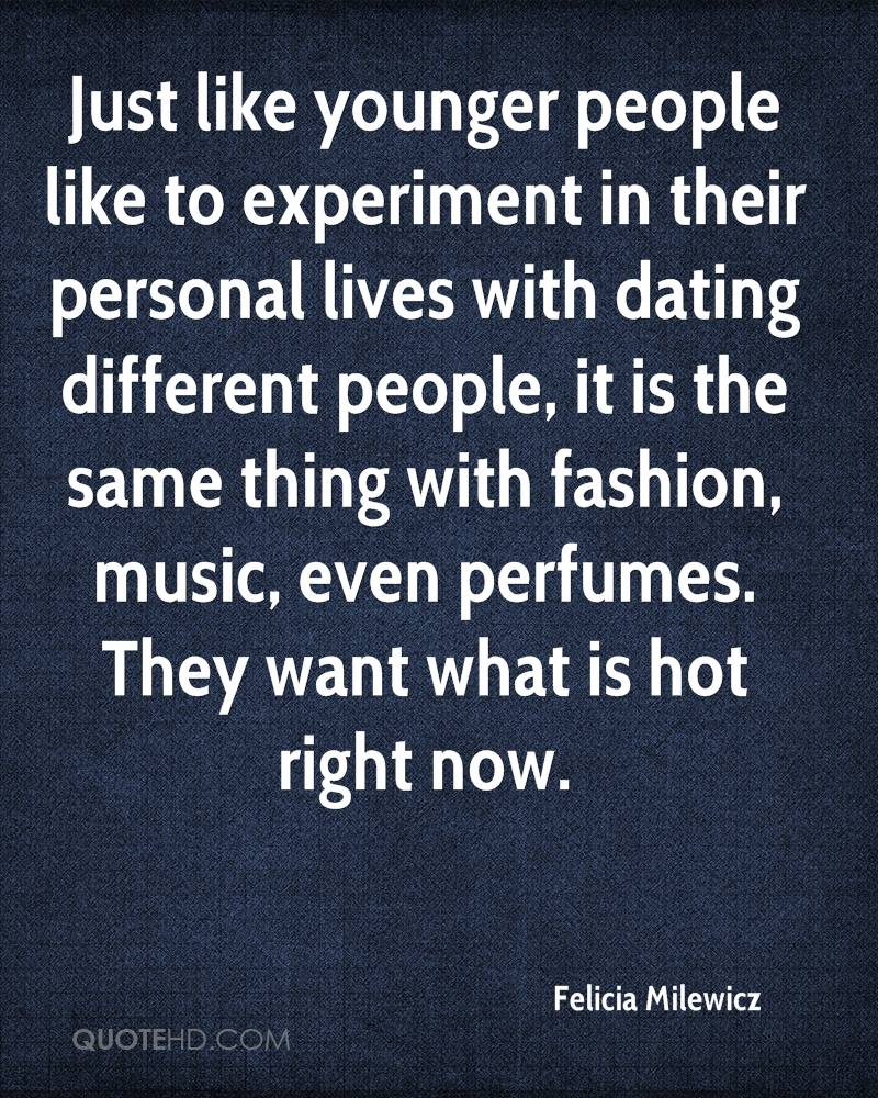 Delightful Just Like Younger People Like To Experiment In Their Personal Lives With  Dating Different People,