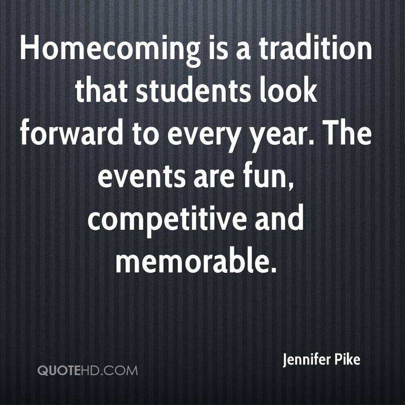 Homecoming Quotes New Jennifer Pike Quotes QuoteHD