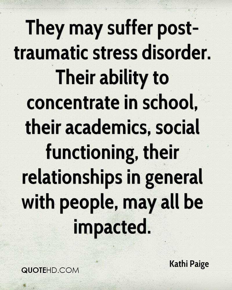 post traumatic stress disorder relationship breakdown quotes