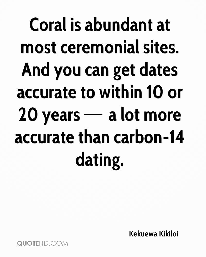 Carbon dating quotes