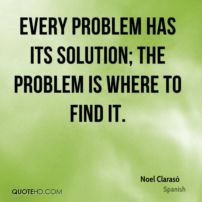 Problem Quotes Awesome Noel Clarasó Quotes  Quotehd