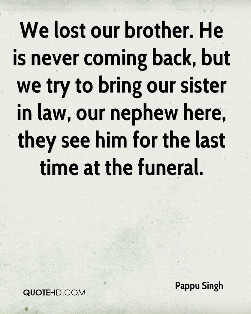 Bring Him Back Quotes: Pappu Singh Quotes