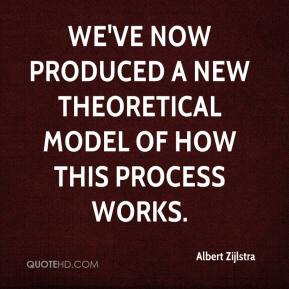 Albert Zijlstra - We've now produced a new theoretical model of how this process works.