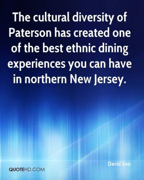 David Soo - The cultural diversity of Paterson has created one of the best ethnic dining experiences you can have in northern New Jersey.