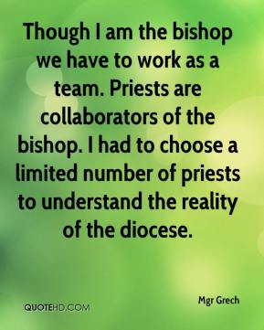 Mgr Grech  - Though I am the bishop we have to work as a team. Priests are collaborators of the bishop. I had to choose a limited number of priests to understand the reality of the diocese.