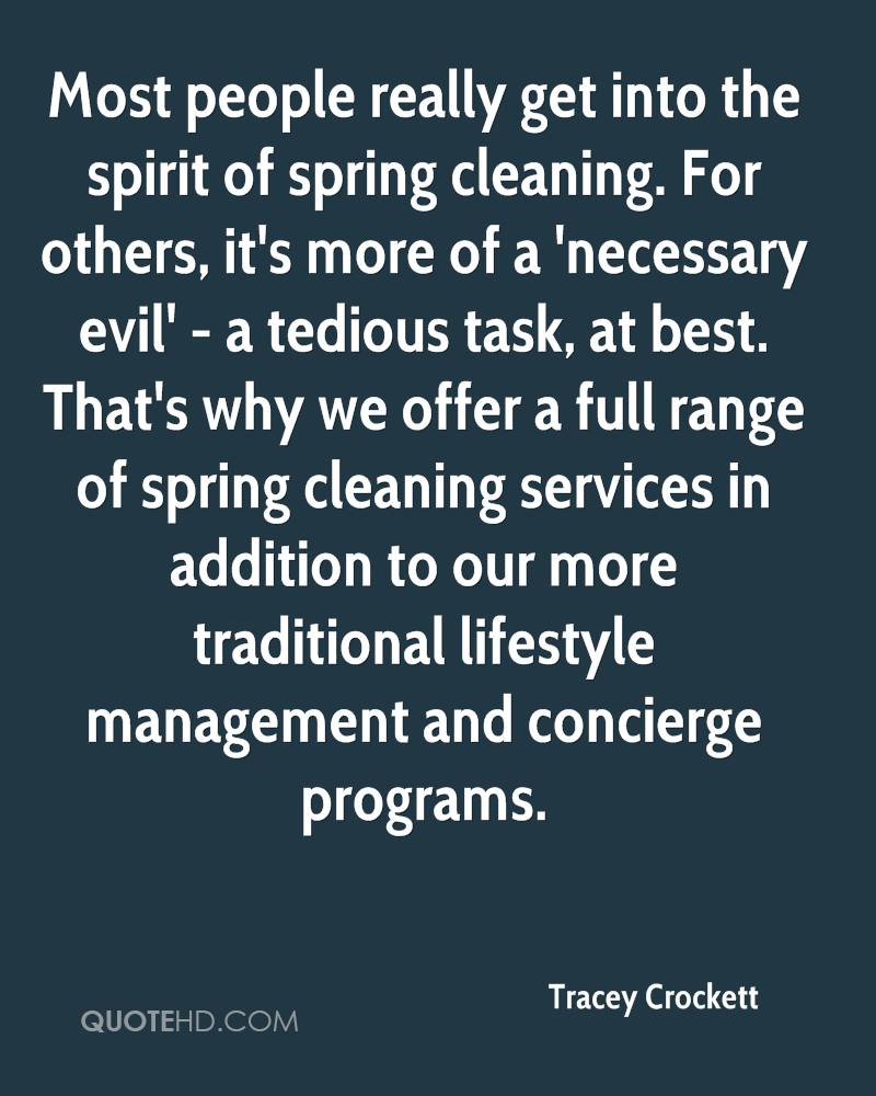Spring Cleaning Quotes Tracey Crockett Quotes  Quotehd