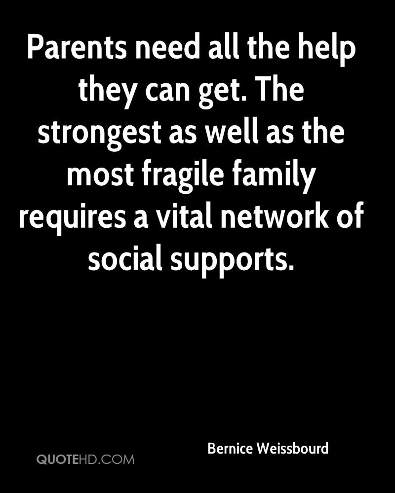 Get All As: Bernice Weissbourd Family Quotes