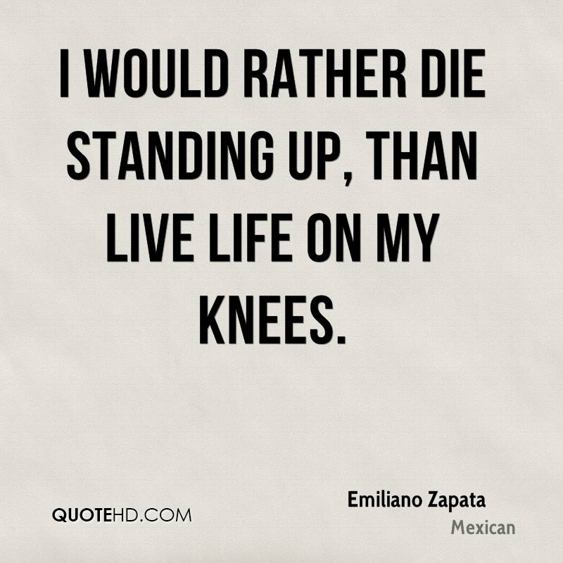 Emiliano Zapata Quotes QuoteHD Inspiration Emiliano Zapata Quotes