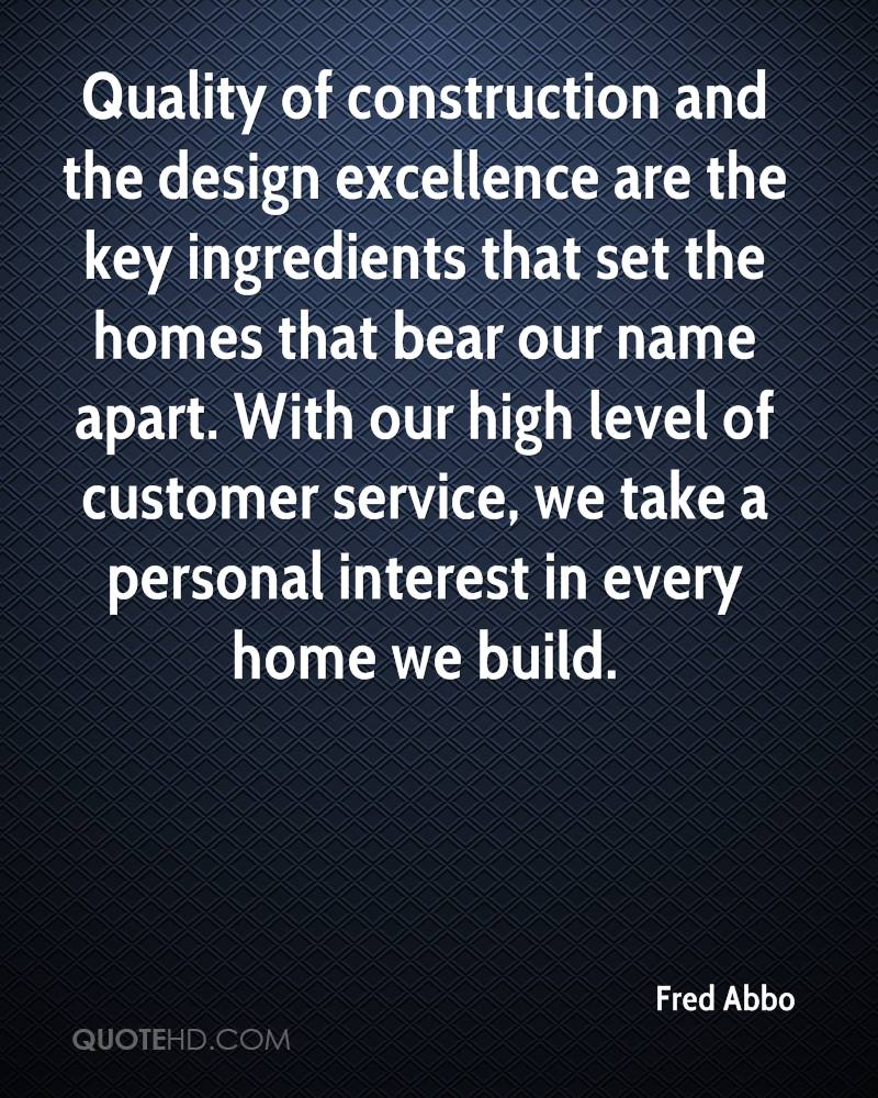 Construction Quotes Fred Abbo Quotes  Quotehd