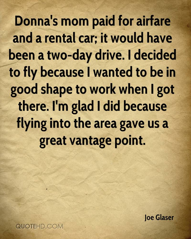 Car Rental Quotes Joe Glaser Quotes  Quotehd