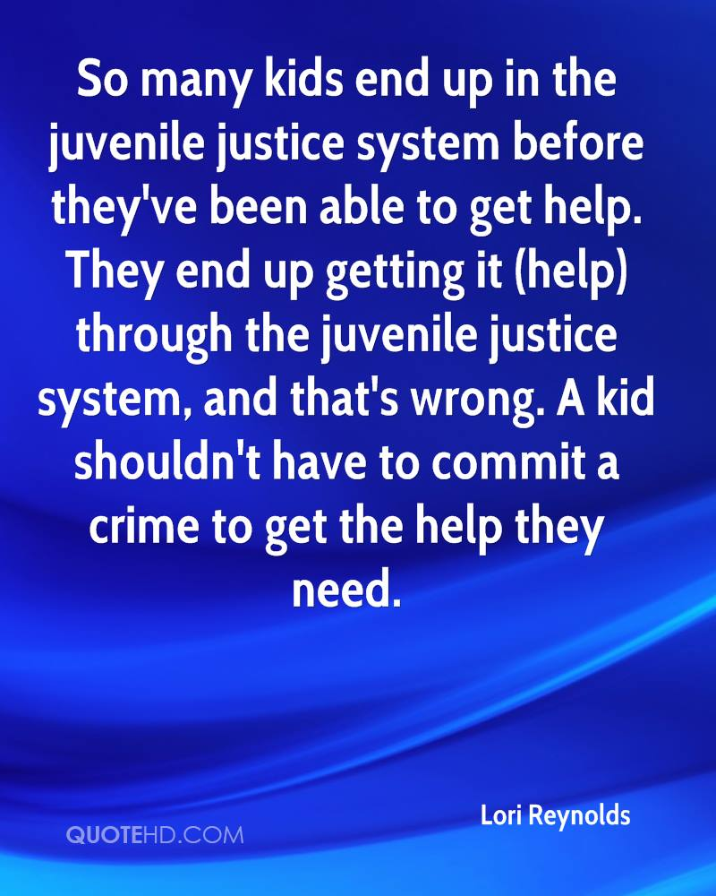 Review of the youth justice system