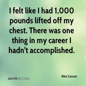 Alex Caruso - I felt like I had 1,000 pounds lifted off my chest. There was one thing in my career I hadn't accomplished.