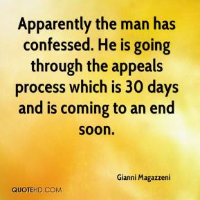 Gianni Magazzeni - Apparently the man has confessed. He is going through the appeals process which is 30 days and is coming to an end soon.