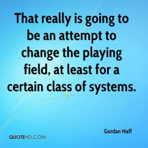 Gordan Haff - That really is going to be an attempt to change the playing field, at least for a certain class of systems.