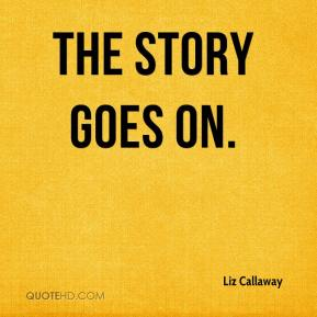 Liz Callaway  - The Story Goes On.