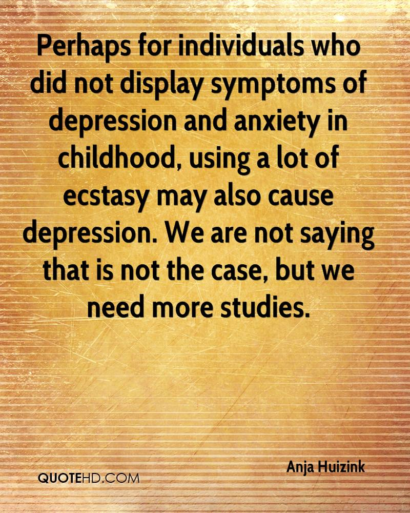 case study on depression and anxiety Ibh warm handoff case study - newly diagnosed depression with anxiety, courtesy of sierra family medical clinic note: this is a demonstration by the sfmc.