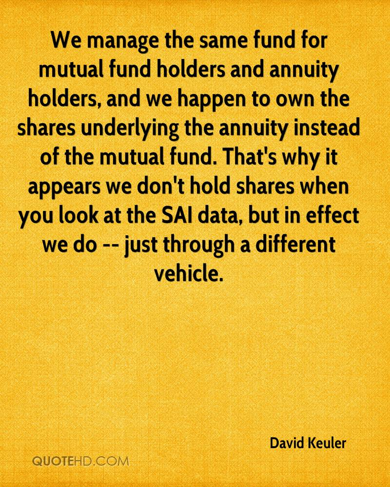 Mutual Fund Quotes David Keuler Quotes  Quotehd