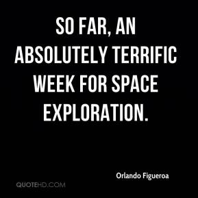 So far, an absolutely terrific week for space exploration.