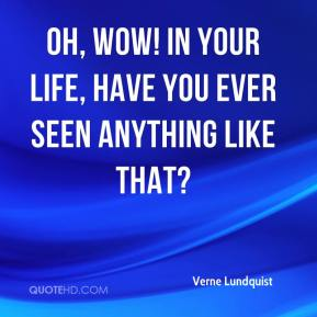 Verne Lundquist  - Oh, wow! In your life, have you ever seen anything like that?